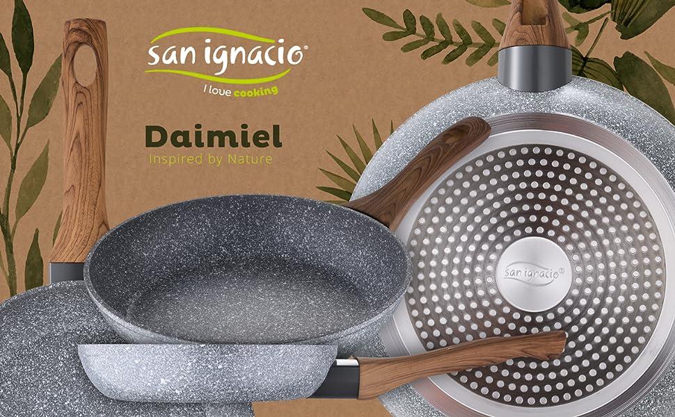 Sartén San Ignacio Serie Galaxy Ø26 cm en Aluminio forjado