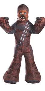 Inflatable Adult Chewbacca Costume