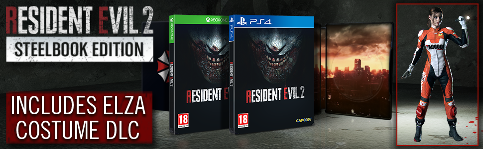 Resident Evil 2 Steelbook Edition (Xbox One): Amazon co uk