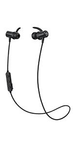 Cuffie Bluetooth 5.0 Bassi Potenziati, Mpow S10 IPX7 Impermeabili Cuffie Wireless con 9 Ore di Gioco, Auricolari Bluetooth Senza Fili da Corsa Audio Stereo Hi-Fi, Auricolari Magnetici per il Sport