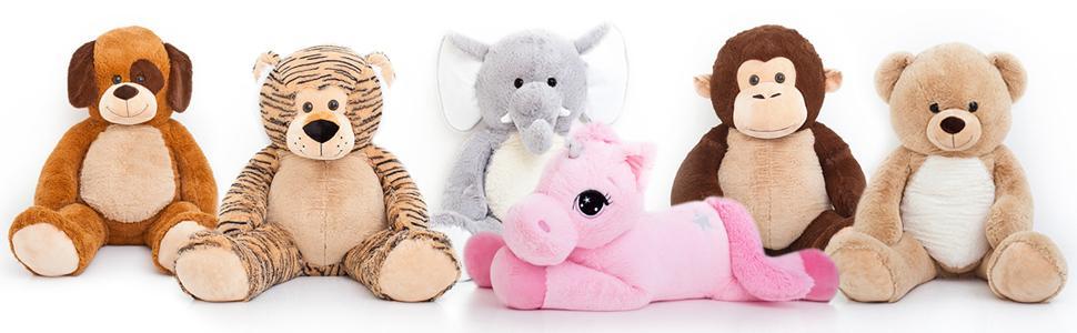 719e21f8b084 Amazon.com  Jumbo Plush Animal