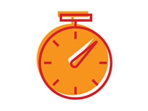 Illustration of a stop watch representing athletic endurance