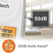 50dB Audio assist ringer amplifier