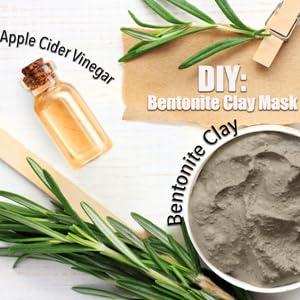 Facial Mask Apple cider vinegar water detox remove heavy metal