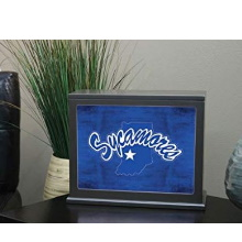 Indiana State Sycamores Colored Logo Collage Light Box Insert