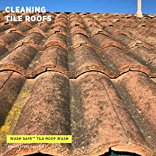 Wash Safe Industries Tile Roof Wash Premium Eco Safe And