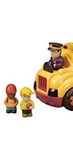 school bus toy, toy bus, toy driver, characters, interactive, play, fun, toys, toddler, kids
