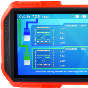 intuitive camera tester with touchscreen