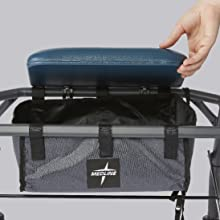 rollator rolling walker mobility aid