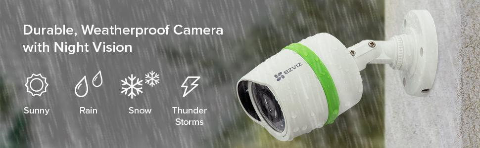weatherproof camera system, outdoor surveillance, outdoor camera, night vision camera, night vision