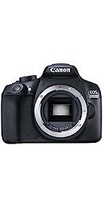 Canon EOS 2000D - Cámara réflex de 24.1 MP (CMOS, Escena ...