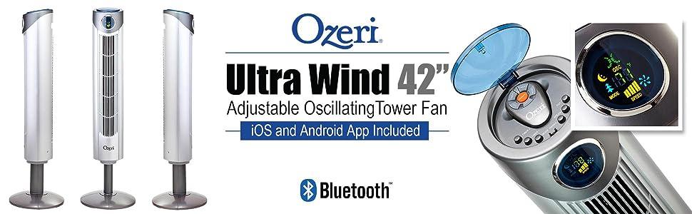 hybrid fan; bluetooth fan; velocity airflow; tilt fan; app fan; ios fan; android fan
