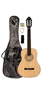 1/2 Size Natural Classical Guitar