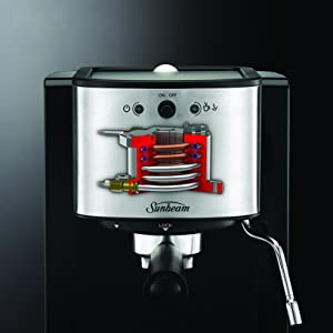 Sunbeam EM2800 Piccolo Espresso Efficient Thermoblock Heating System