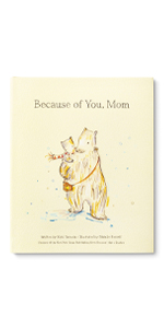 Adorable illustrated gift book for mom