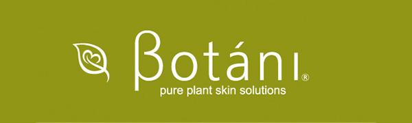 Botani, vegan skincare, plant-based, natural, organic