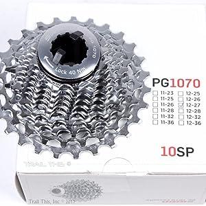 SRAM PG-1070 10 speed 12-36 Cassette