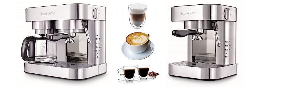 Espressione Stainless Steel Espresso Series