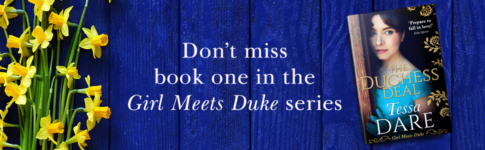 Don't miss book 1 in the Girl Meets Duke series