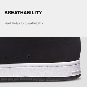 skate shoe, breathability, DC