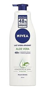 lait hydra apaisant nivea hydratant corps