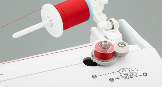 sewing machine, bobbin winder