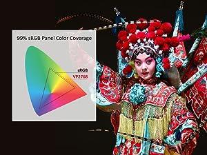 Moniteur professionnel 99 % d'espace couleur sRGB