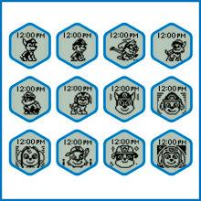 12 Patrol Faces