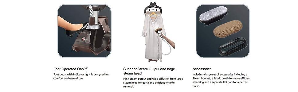 Rowenta, Full Size Steamer, Garment Steamer