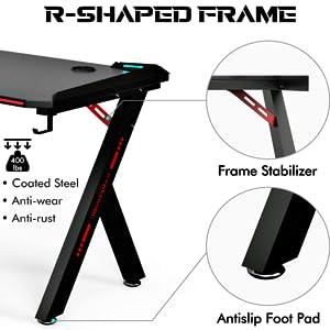 Sturdy R-Shape