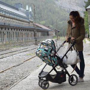 parent facing compact single stroller