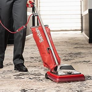 Sanitaire, commercial vacuum, Industrial vacuum, professional vacuum, bagged vacuum, vacuum cleaner