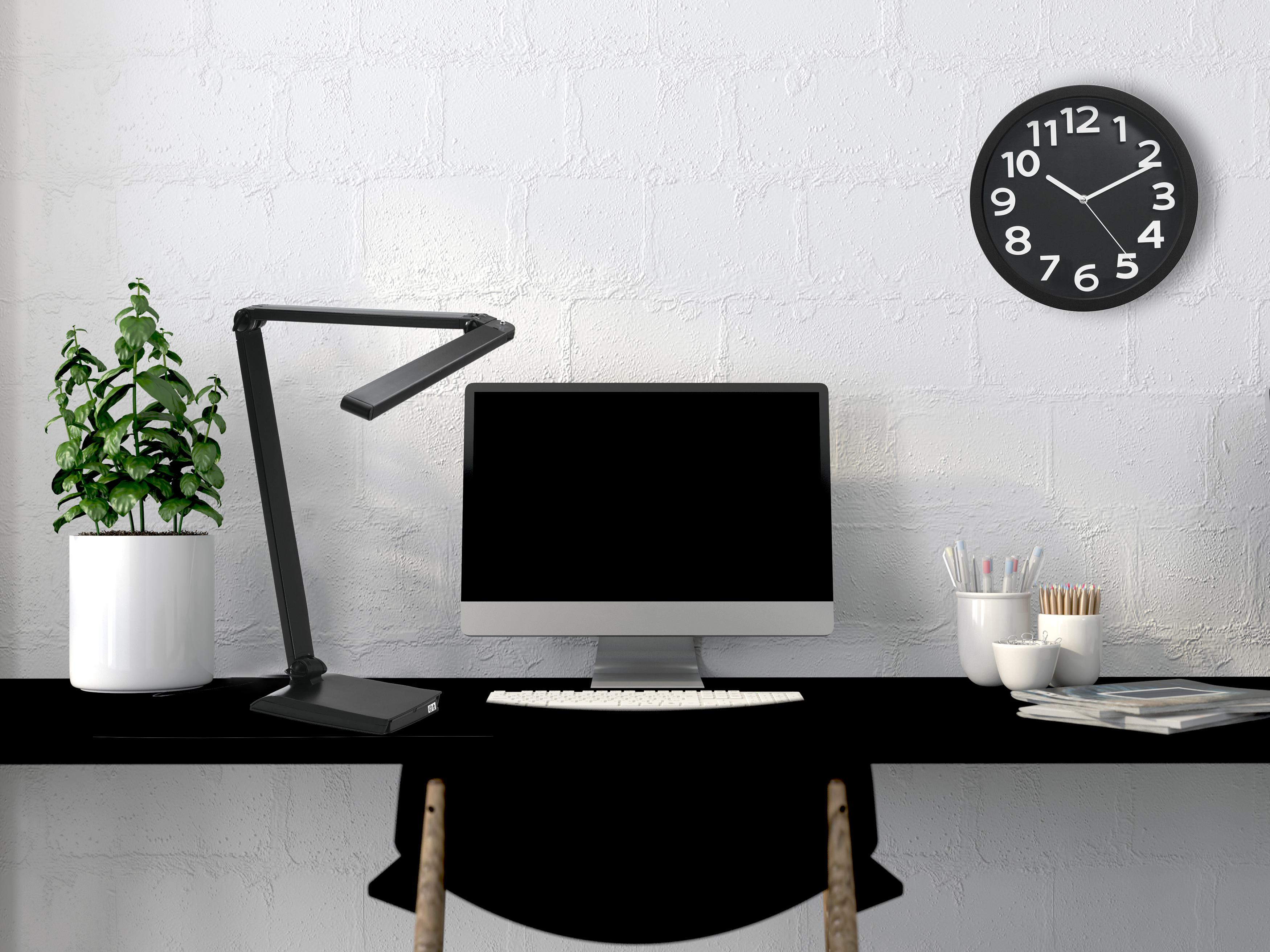 port led hours office flexible arm spree sol desk with lamp usb walmart black