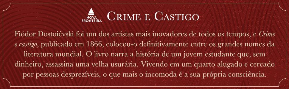 Crime e castigo, Dostoiévski, livro, assassina