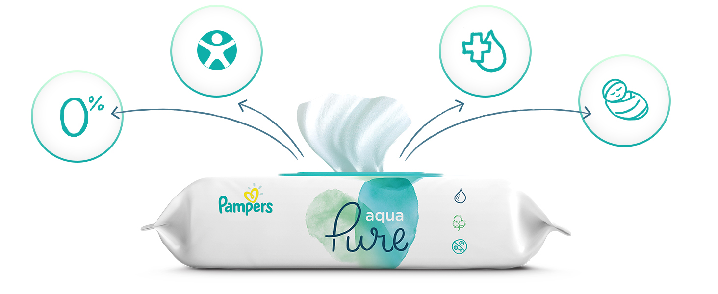 wipes, endorsement, pure, pampers