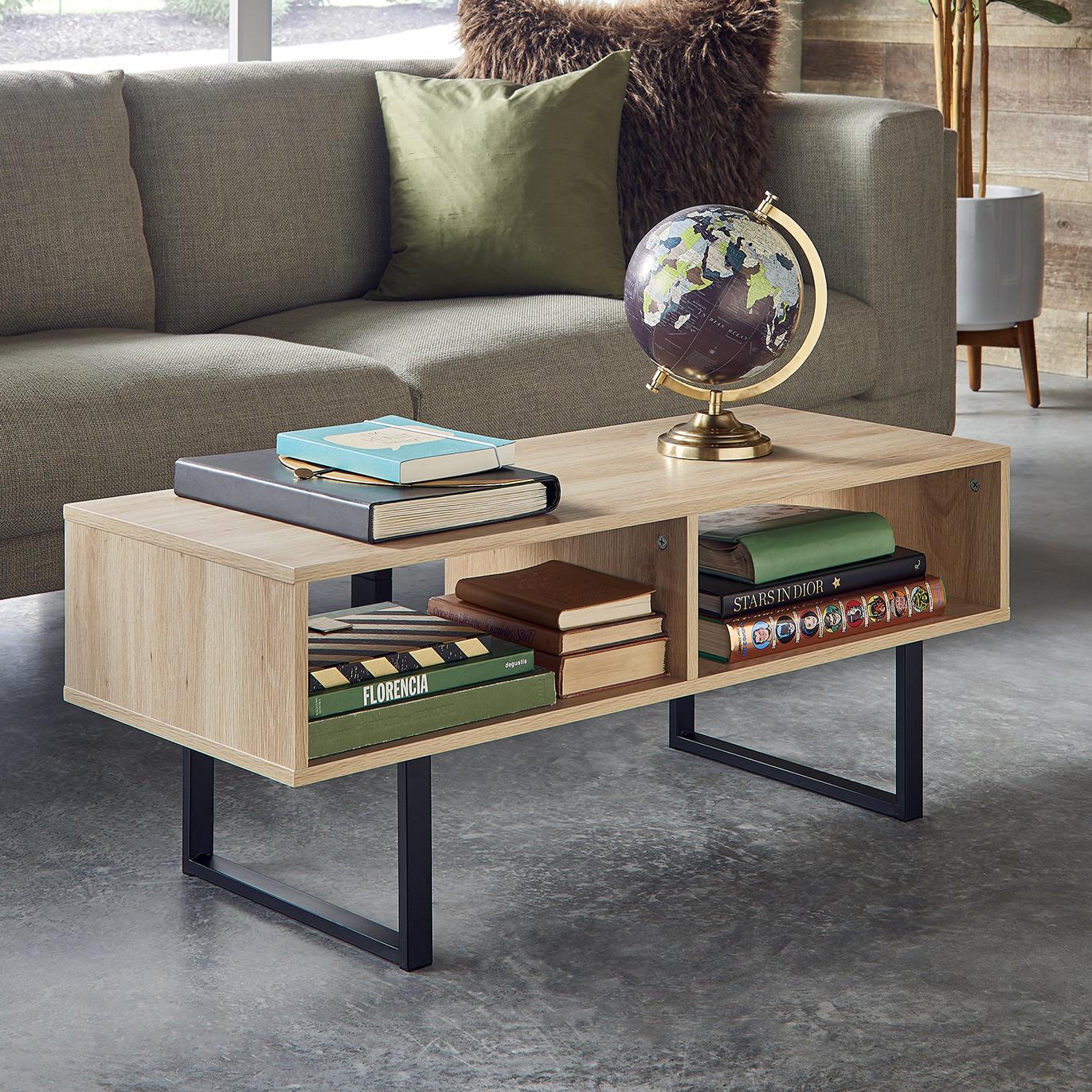 Storage Furniture Coffee Table White Closetmaid: Amazon.com: ClosetMaid 1315 Rectangular Wood Coffee Table