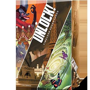 Space Cowboys-Juego de Cartas Unlock (Escape Adventures) (Asmodee SCUN0001): Amazon.es: Juguetes y juegos