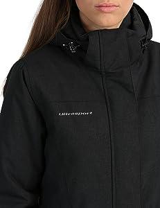 Para evitar la penetración de viento y humedad en los puños, éstos se pueden regular con cierres de velcro. Además, la chaqueta dispone de mangas interiores ...
