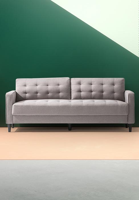 Mid-Century Upholstered
