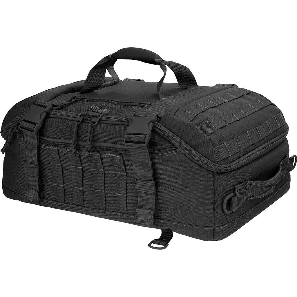 Amazon.com  Maxpedition Fliegerduffel Adventure Bag, Black  Sports ... fd7b377cf3