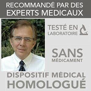 Dispositif Médical, recommande par les médecins, testé en laboratoire, sans médicaments