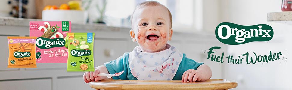 Organix, Baby Snacks, Toddler Snacks, Organic Snacks, Weaning