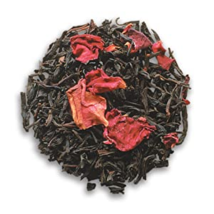 Blended with both rose petals and rose essential oils, Rose Petal Black is bursting with rose flavor. Rose adds a natural sweetness and a light floral touch sure to please any palette!