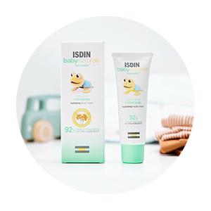 isdin baby naturals nutraisdin crema bebe piel infantil cara facial niños hidratante