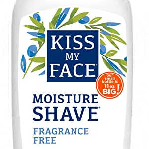 fragrance free shave cream