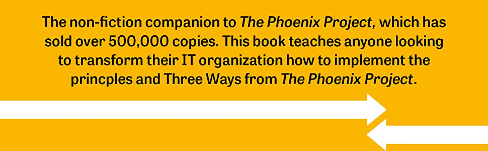 phoenix project, devops handbook