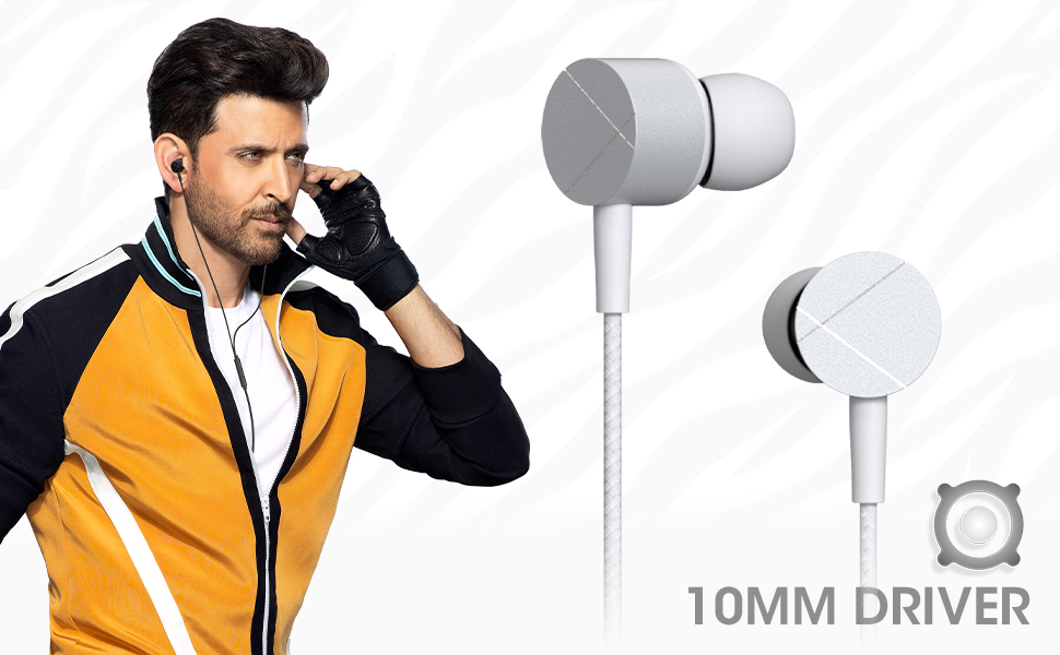 zebronics wired earphones,type c wired earphones,wired earphones,in ear wired earphones
