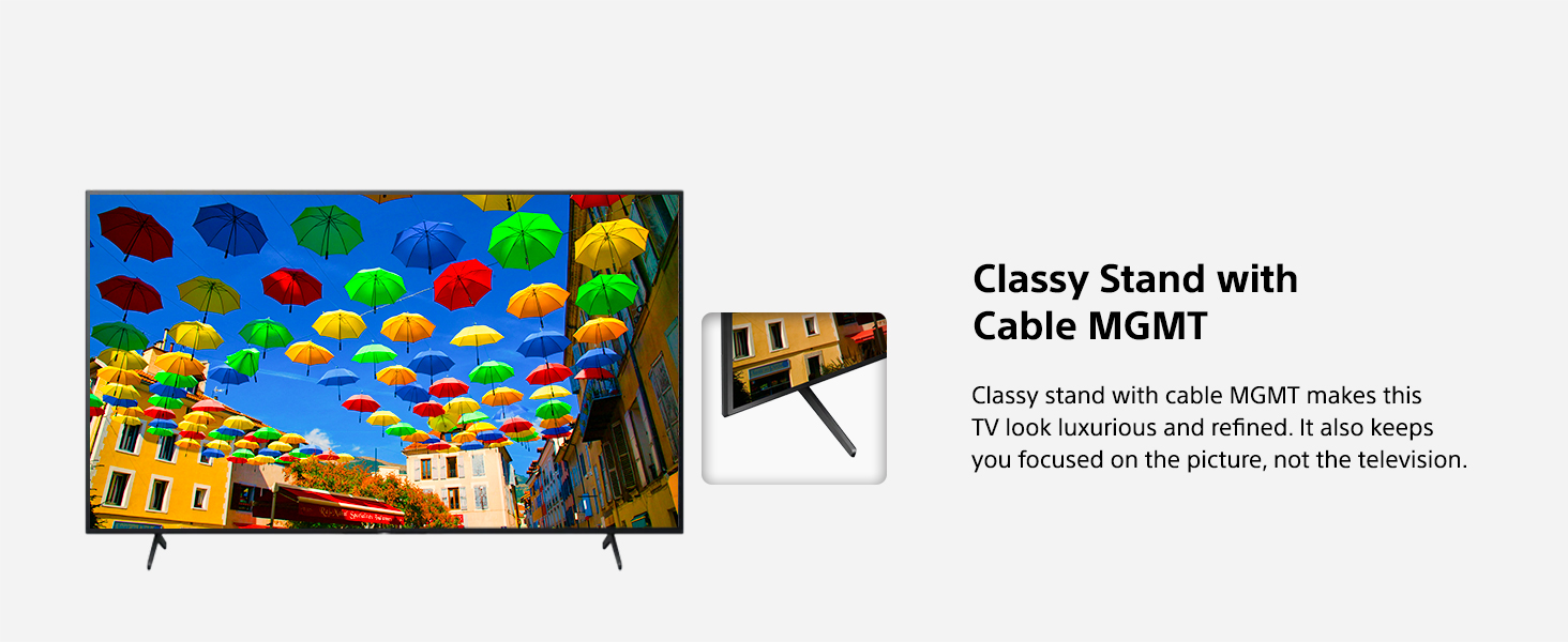 CLASSY STAND WITH CABLE MGMT