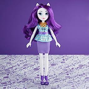 Amazoncom My Little Pony Equestria Girls Rarity Classic Style Doll