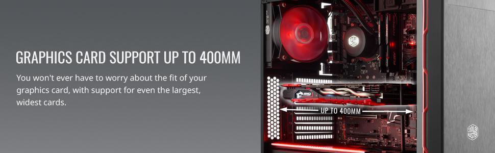 GPU support 400mm
